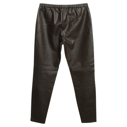 Michael Kors trousers made of artificial leather