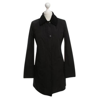 Barbour Trenchcoat in zwart