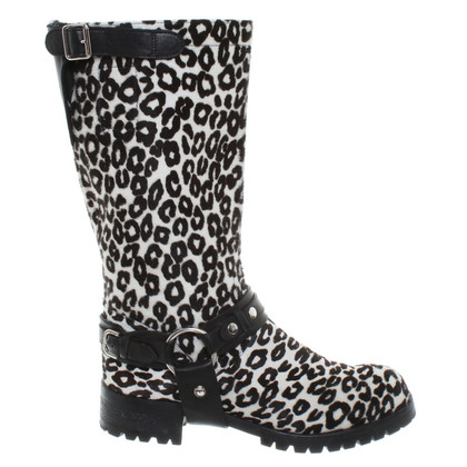 Marc Cain Boots with fur trim