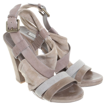 Brunello Cucinelli Sandals made of leather mix