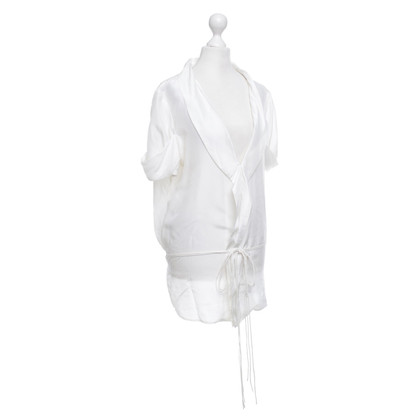 Closed Silk blouse in white