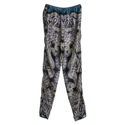 Lanvin trousers with paisley pattern