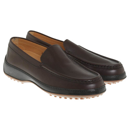 Tod's Moccasins in brown leather