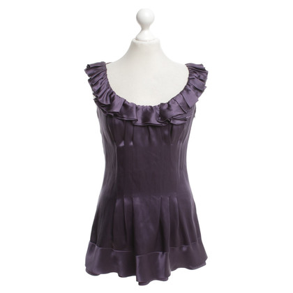 Prada Silk top in purple