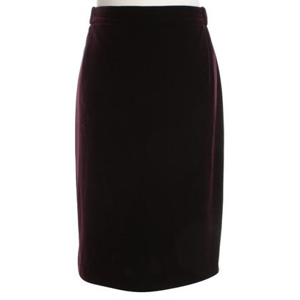 Givenchy skirt made of velvet