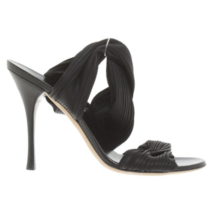 Gucci Sandals with fabric ribbons