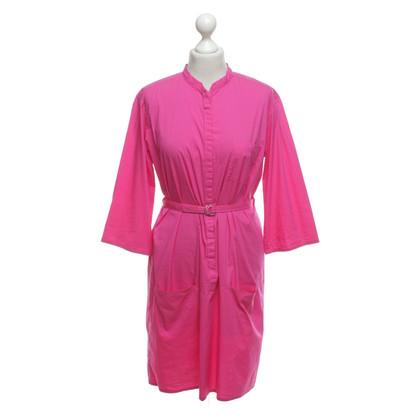 René Lezard Kleid in Pink