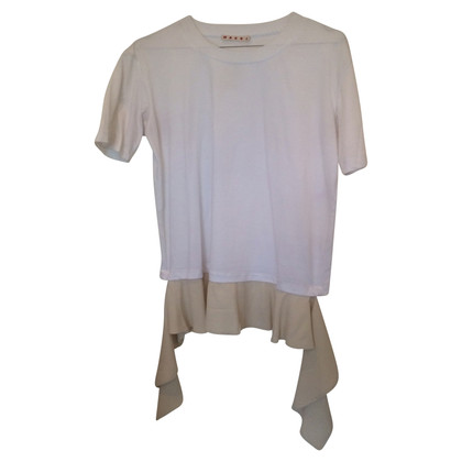 Marni T-Shirt mit Rüschen