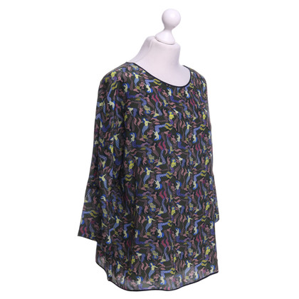 Odeeh Silk blouse with pattern