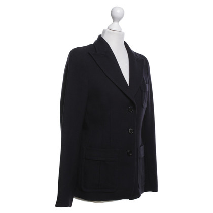 Dries van Noten Blazer in Dark Blue