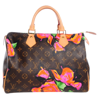 "Louis Vuitton ""Speedy 30 Monogram Roses"""