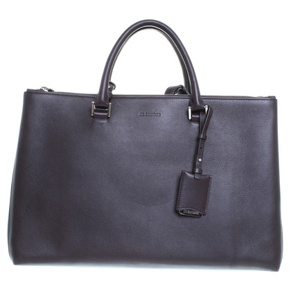 Jil Sander Bag in Eggplant