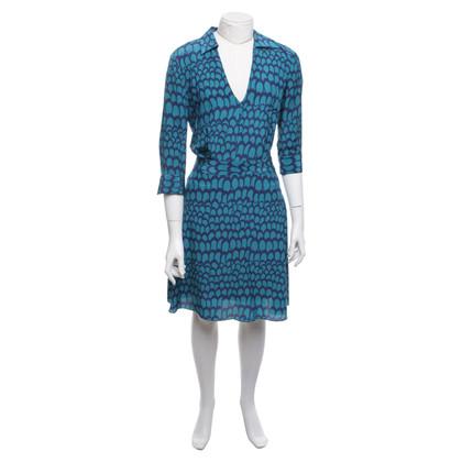 Stefanel Dress in blue / teal