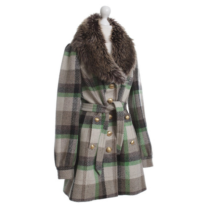 Juicy Couture Plaid coat