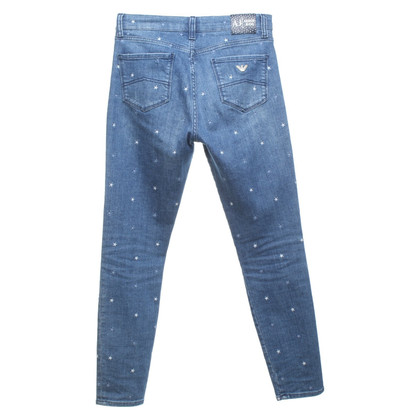 Armani Jeans with star embroidery