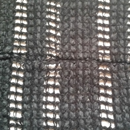 Dolce & Gabbana Sciarpa di lana grigia