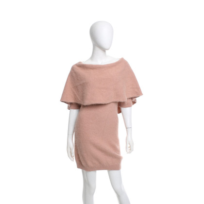 Elisabetta Franchi Wool dress in Nude
