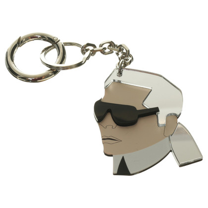Karl Lagerfeld Key pendant plexi-glass