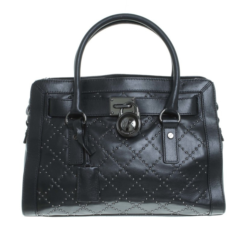 michael kors tasche hamilton microstud quilted in. Black Bedroom Furniture Sets. Home Design Ideas