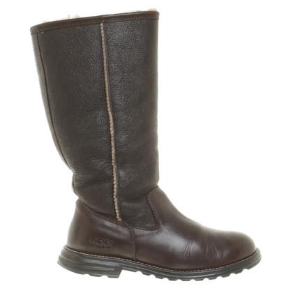 UGG Australia Lederen laarzen in bruin