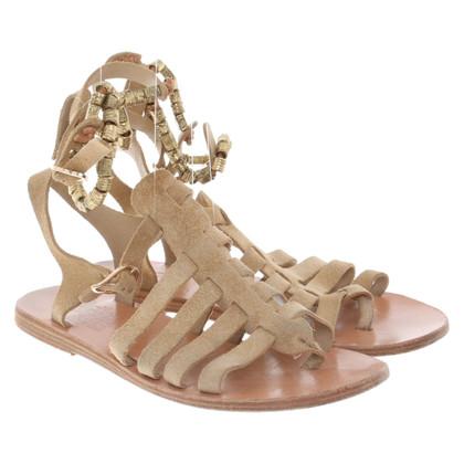 Ancient Greek Sandals Suède sandalen