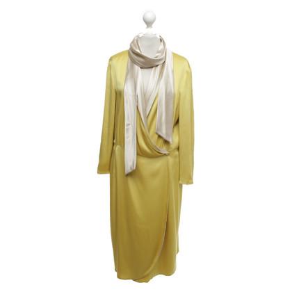 Escada Silk dress with matching scarf
