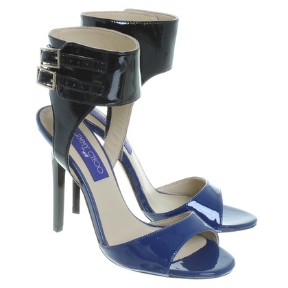 Jimmy Choo for H&M Sandalen in zwart en blauw