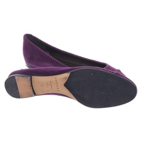 Freies Verschiffen Billig Qualität Rabatt Sast Unützer Ballerinas aus Wildleder Violett Shop-Angebot Online Alle Jahreszeiten Verfügbar mo0Dm