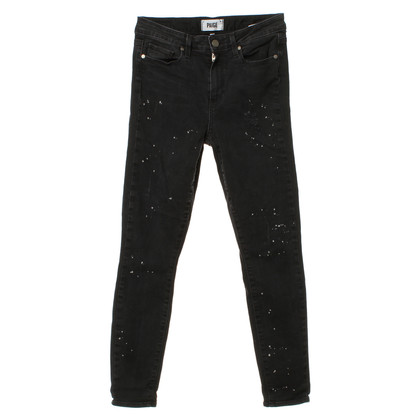 Paige Jeans Jeans with white pigment