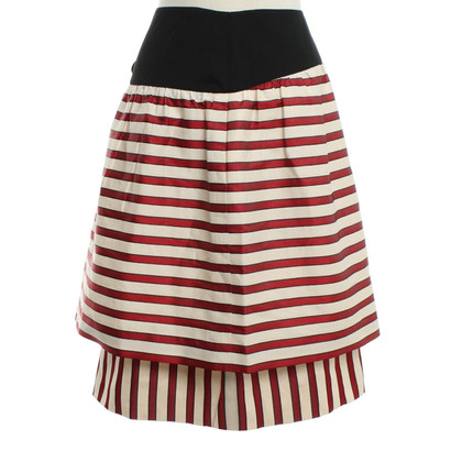 Fendi skirt with stripes pattern