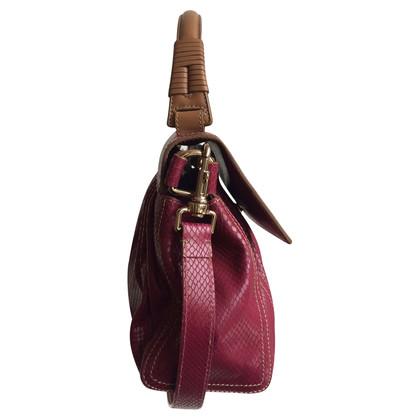 Escada Pink Python Bag