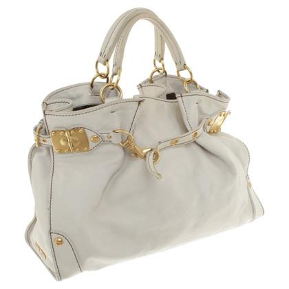 Miu Miu Leather handbag in beige