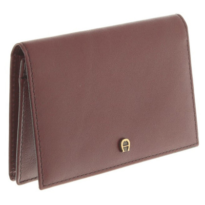 Aigner Small leather in Bordeaux