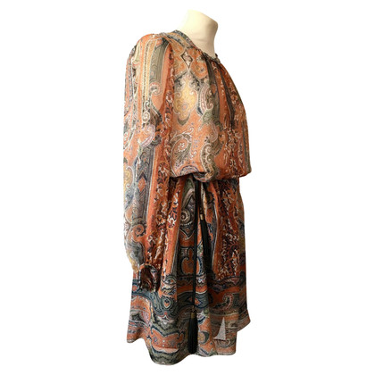 Isabel Marant Silk dress with Paisley pattern