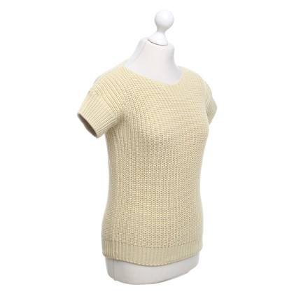 Brunello Cucinelli Short-sleeved pullover in green