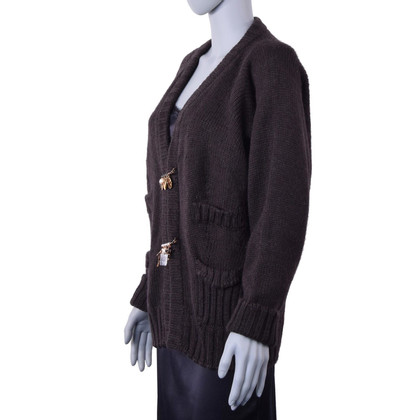 Dolce & Gabbana Cardigan with brooches