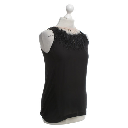 Schumacher top in black