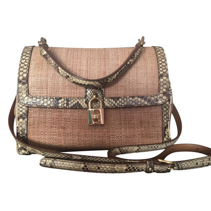 Dolce & Gabbana Tote bag Bast / Python / Leather