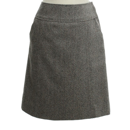 Louis Vuitton Tweed-skirt in Multicolor