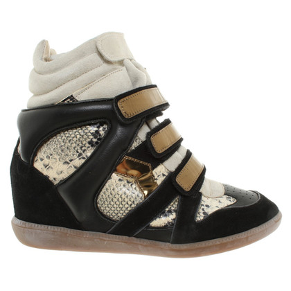 Isabel Marant Wedges with reptile embossing