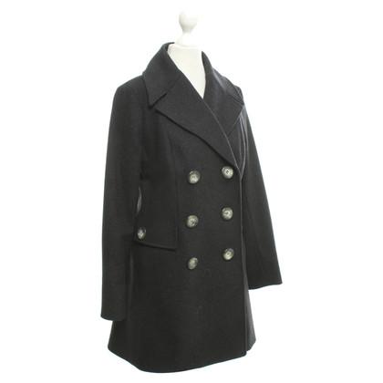 Céline Coat in dark gray