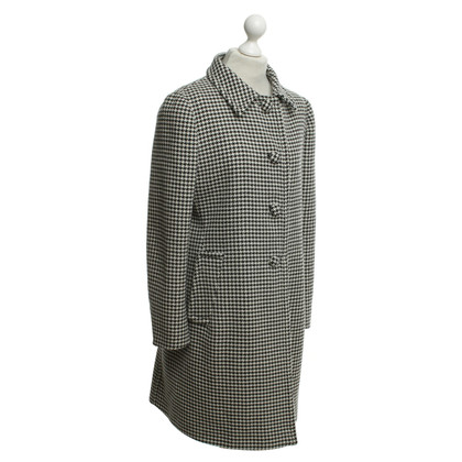 Prada Houndstooth coat