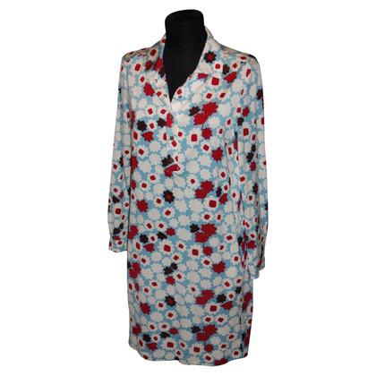 Diane von Furstenberg Silk Print blouse dress