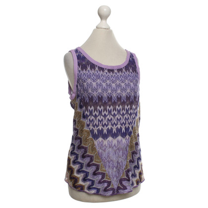 Missoni Knitted top with pattern