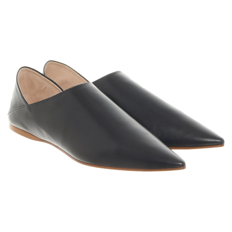 Acne Slippers/Ballerinas Leather in