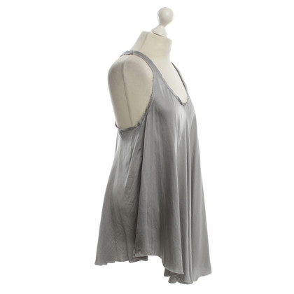 Pierre Balmain Top in seta a Gray