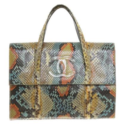Chanel Borsa in pelle di serpente
