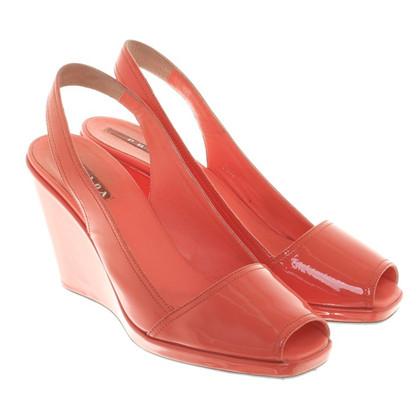 Prada sandali rosa corallo