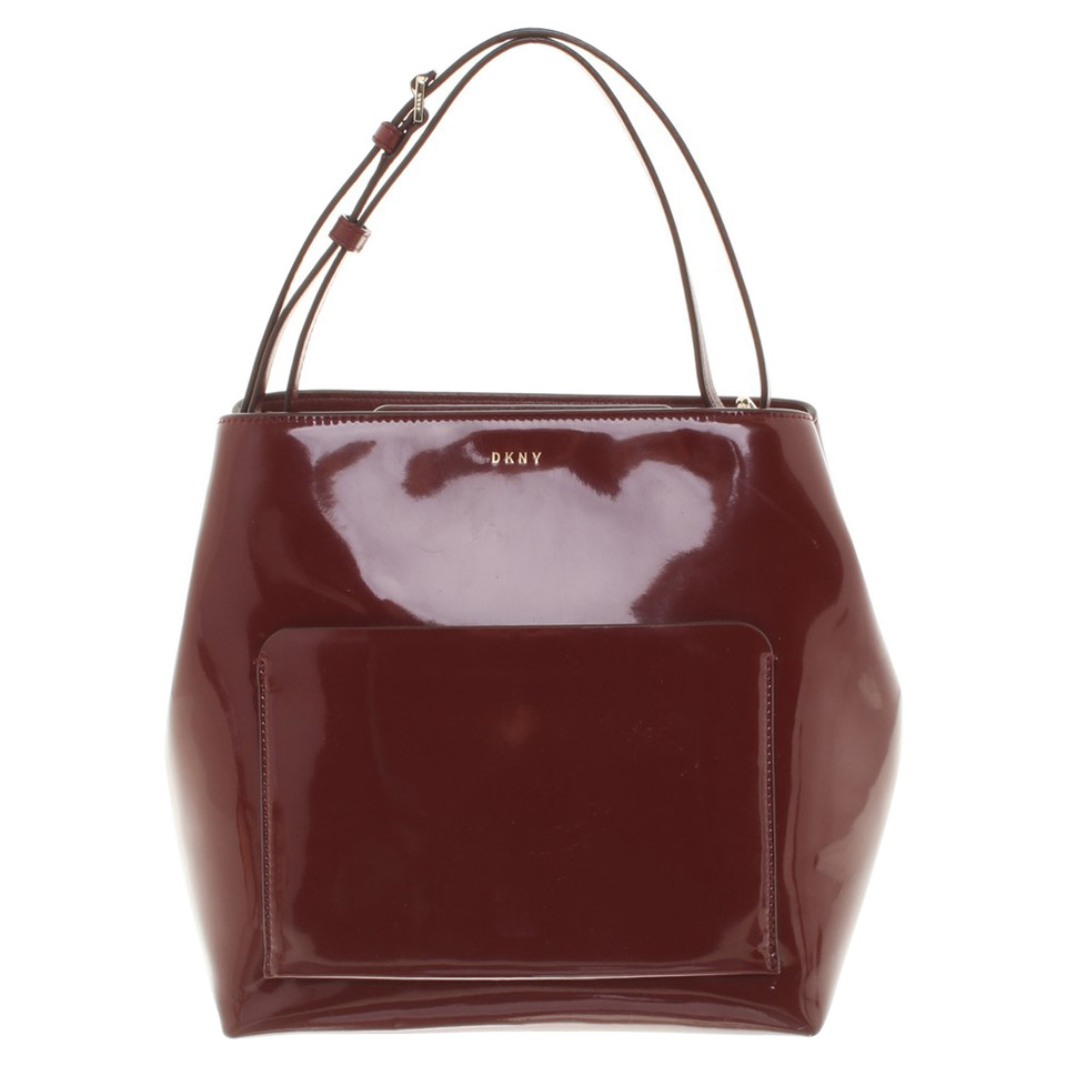 dkny handtasche in bordeaux second hand dkny handtasche in bordeaux gebraucht kaufen f r 200. Black Bedroom Furniture Sets. Home Design Ideas