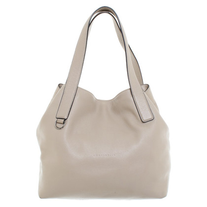 Coccinelle Leather handbag in beige